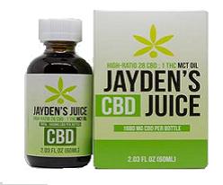 Jayden's Juice CBD 60ml